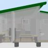 визуализация помещений, парилка и моечное отделение
