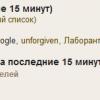 Google в чате