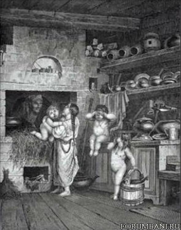 Как моются бабы в простых банях фото 396-49