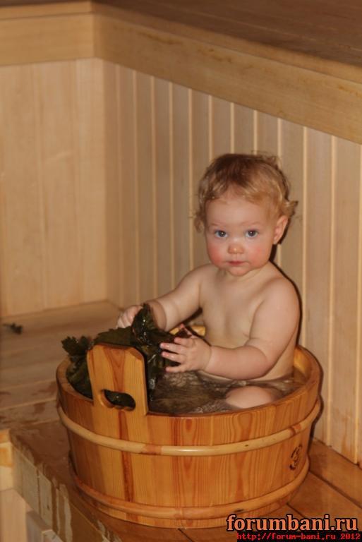 Пососала в бане